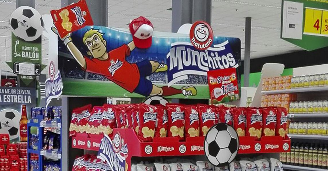 Imagen de montaje especial de Munchitos para Mundial 2018