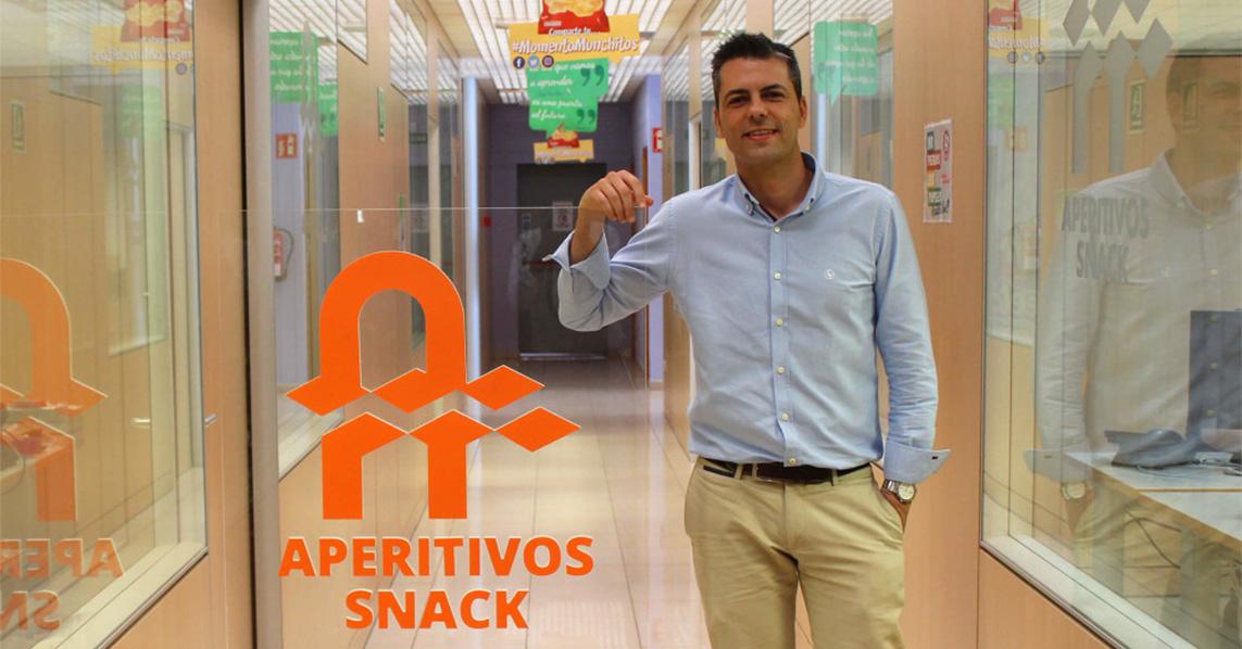 Presentación de Jorge Sánchez Álamo Director Gerente de Aperitivos Snack