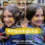 PaintGold Mes del cáncer infantil
