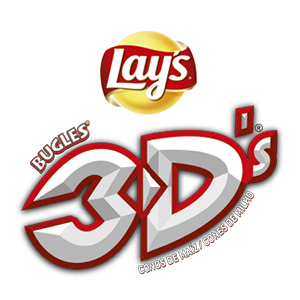 Logo Lay's Bugles 3D's