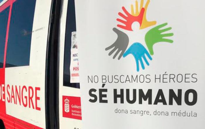 No buscamos héroes, sé humano. Donación de sangre en Aperitivos Snack