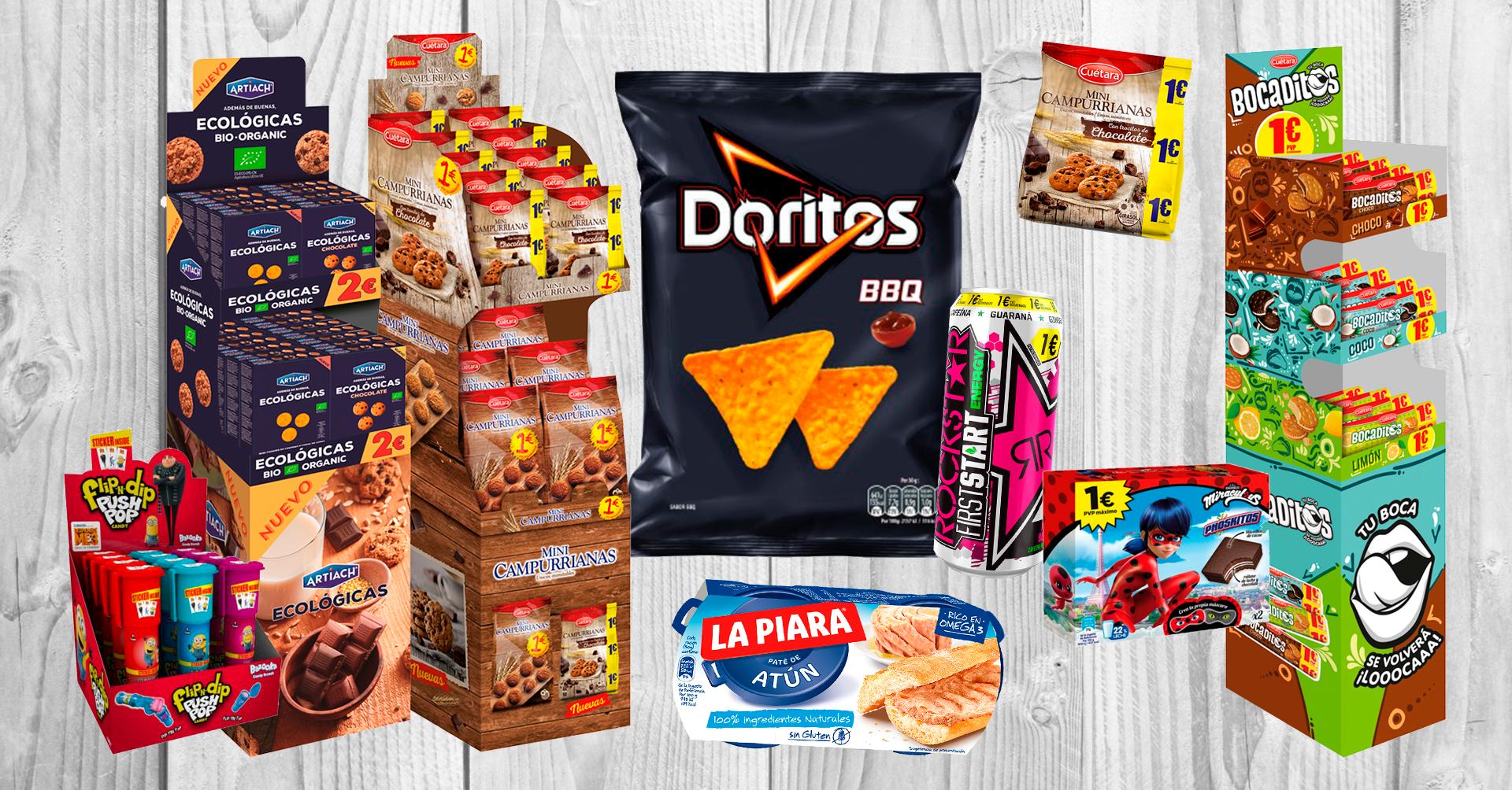 Novedades Aperitivos Snack