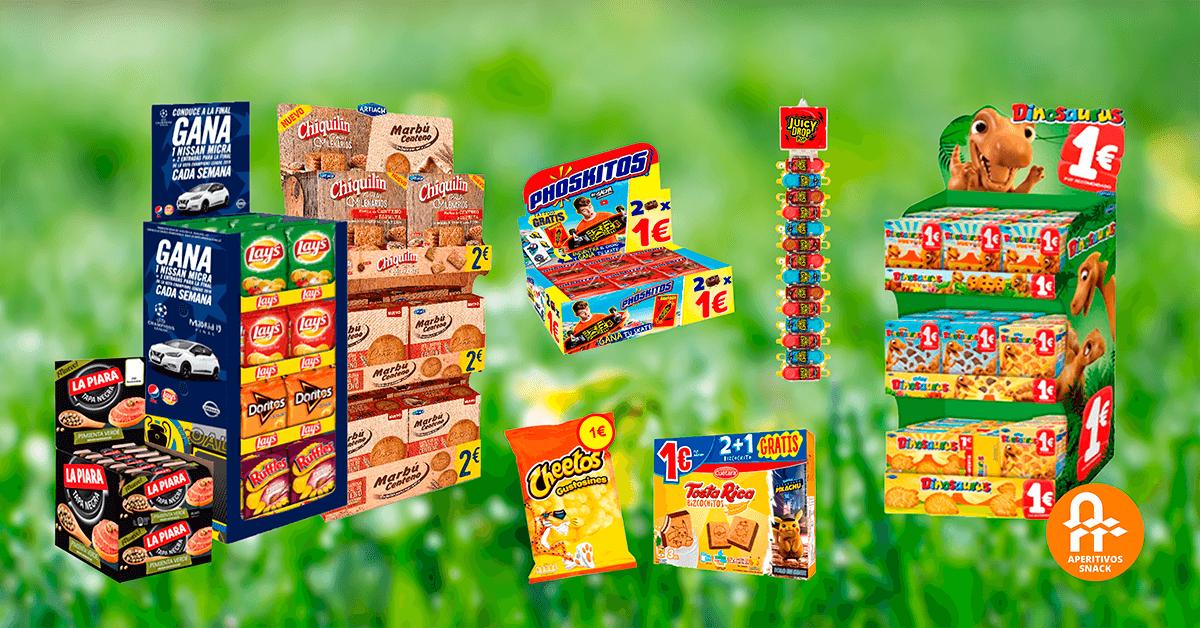 Novedades de marzo de Aperitivos Snack