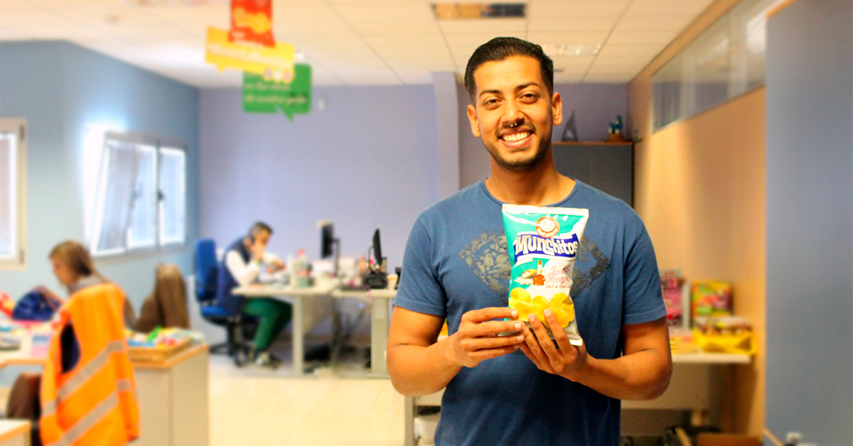 Karun Lalwani, jefe de Marketing de Aperitivos Snack