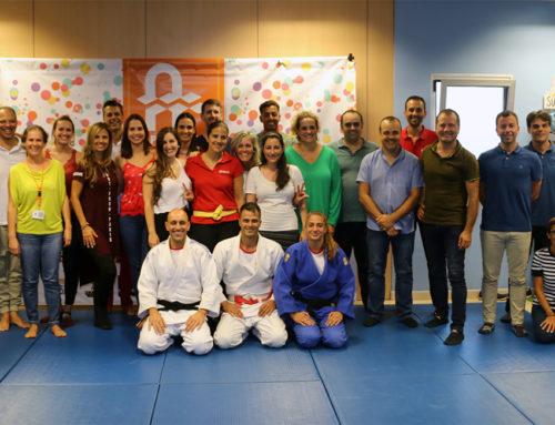 Practicamos dinámicas de grupo con el Judo Club Akari & Las Nieves
