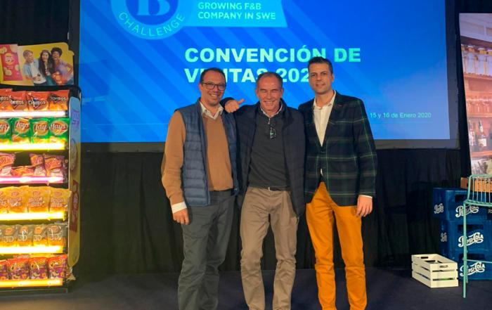 Aperitivos Snack y Ahembo, dos empresas canarias que destacan en la Convención anual de ventas PepsiCo