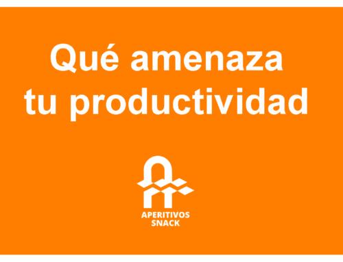 Qué amenaza tu productividad