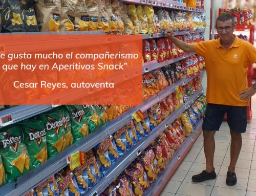 Compromiso Aperitivos Snack: César Reyes, confianza y trato exquisito con el cliente