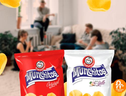 Aperitivos Snack lanza su tienda online para vender Munchitos en la Península