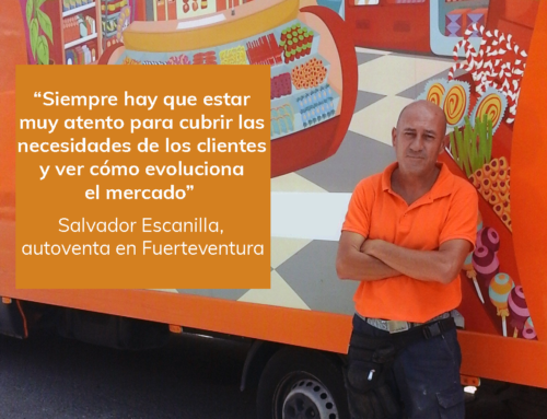 Compromiso Aperitivos Snack: Salvador Escanilla, experiencia y buen hacer en el punto de venta
