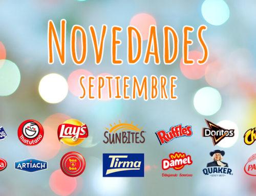 Descubre las novedades de Aperitivos Snack para el mes de septiembre
