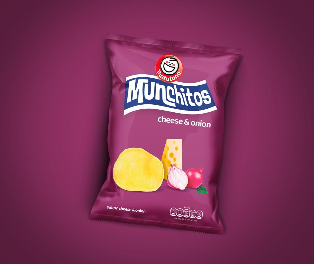 Nuevo diseño de Munchitos Cheese & Onion