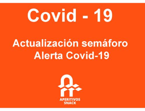 Actualización Semáforo Alerta Covid-19