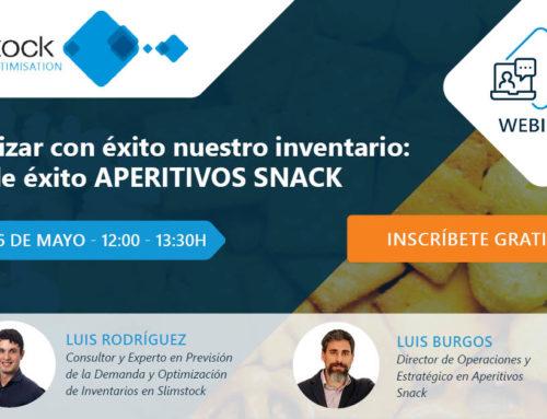 Luis Burgos, Director de Operaciones y Estrategia, ponente en un webinar de Slimstock