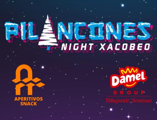 Aperitivos Snack patrocinador de la Pilancones Night Xacobeo con Damel