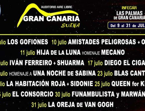 Gran Canaria suena abre su programación con el patrocinio de Munchitos